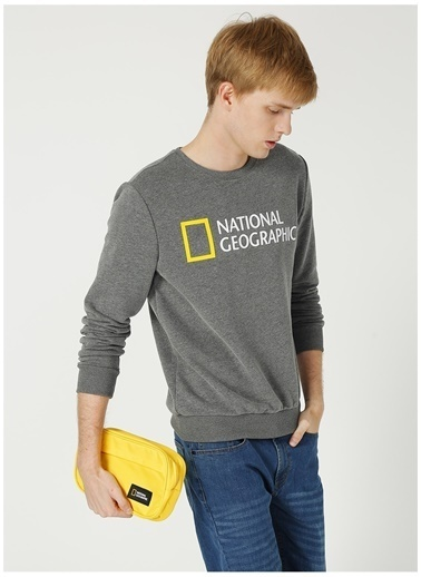 National Geographic Sweatshirt Gri